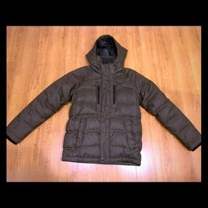 Hawke & Co. NY Clarkson Down Hooded Parka Mens S